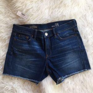 J.Crew Indigo Denim Shorts